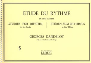 DANDELOT - Study of the Rhythm Volume 5 - Sheet Music - di-arezzo.co.uk