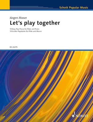 Jürgen Moser - Let's Play Together - Partition - di-arezzo.fr