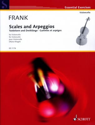 Maurits Frank - Ranges and Arpeggios - Sheet Music - di-arezzo.co.uk