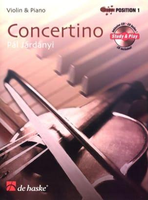 Concertino - Violon Pal Jardanyi Partition Violon - laflutedepan