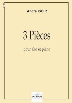 3 Pièces 2006 - André Isoir - Partition - laflutedepan.com