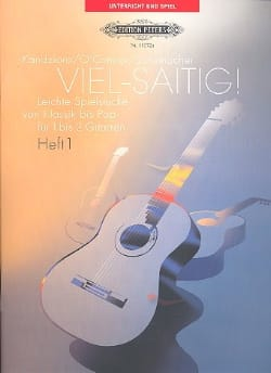 Viel-Saitig Volume 1 - Partition - Guitare - laflutedepan.com