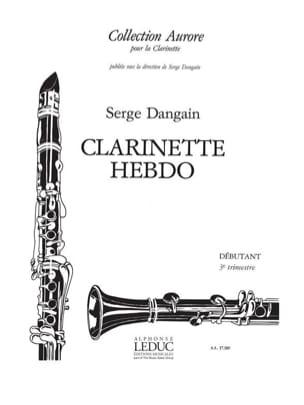 Clarinette hebdo - Volume 3 - Serge Dangain - laflutedepan.com