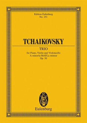 TCHAIKOVSKY - Klavier-Trio a-moll - 楽譜 - di-arezzo.jp