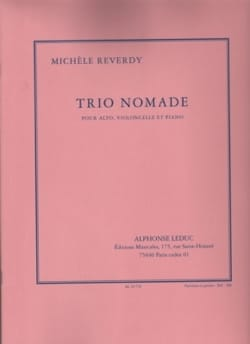 Michèle Reverdy - Nomad Trio - Sheet Music - di-arezzo.com
