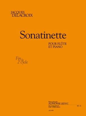Jacques Delacroix - Sonatinette - Partitura - di-arezzo.it