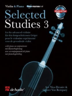 Dezaire Nico / Van Rompaey Gunter - Selected Studies 3 2 CD - Sheet Music - di-arezzo.co.uk