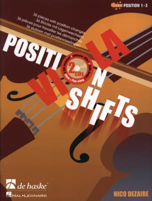 Nico Dezaire - Position Shifts Viola + 2cd - Partition - di-arezzo.fr