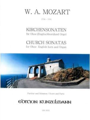 Wolfgang Amadeus Mozart - Sonates d'Eglise Kv 336 - 278 - 244 - Adagio 580a - Partition - di-arezzo.fr