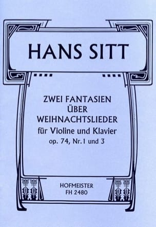 2 Fantaisies S/Weinachtslieder Op.74 N°1 et 3 - laflutedepan.com