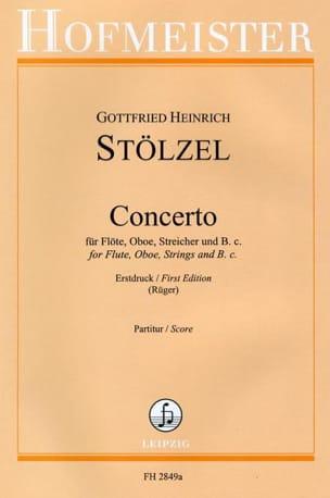 Gottfried Heinrich Stölzel - Concerto - Partition - di-arezzo.fr