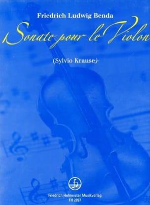 Friedrich Ludwig Benda - Sonata For The Violin - Sheet Music - di-arezzo.com