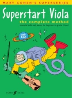 Superstart Viola With CD Level 1 - Mary Cohen - laflutedepan.com