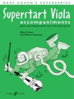 Mary Cohen - Superstart Viola Piano Accompaniments - Sheet Music - di-arezzo.co.uk
