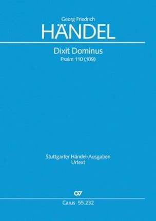 Dixit Dominus, HWV 232 - Georg Friedrich Haendel - laflutedepan.com