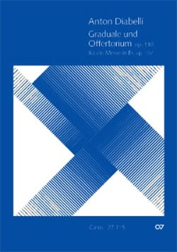 Antonio Diabelli - Graduale Und Offertorium Op.110 - Partition - di-arezzo.fr