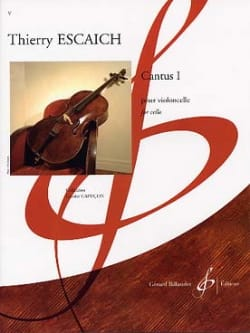 Thierry Escaich - Cantus 1 - Partition - di-arezzo.fr