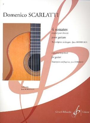 Domenico Scarlatti - 4 Sonatas - Sheet Music - di-arezzo.co.uk