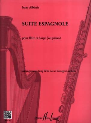 Suite Espagnole ALBENIZ Partition Duos - laflutedepan