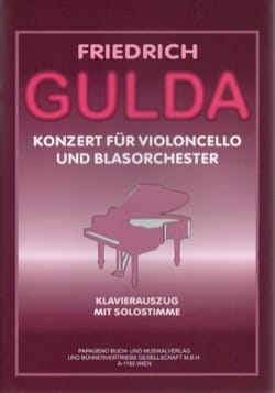 Friedrich Gulda - Cello Concerto - Sheet Music - di-arezzo.co.uk