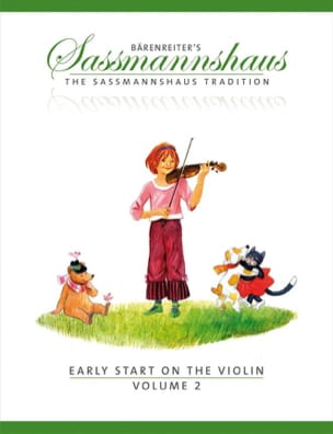 Egon Sassmannshaus - Early start on the violin vol.2 - Partition - di-arezzo.fr