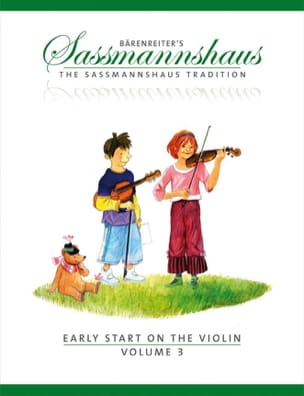 Egon Sassmannshaus - Early Start on the Violin - Volume 3 - Partition - di-arezzo.fr