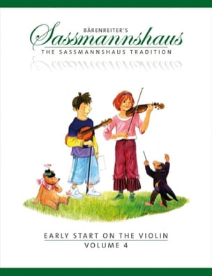 Egon Sassmannshaus - Early start on the violin vol.4 - Sheet Music - di-arezzo.com