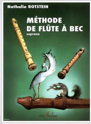 Nathalie Rotstein - Méthode de Flûte à Bec Soprano - Partition - di-arezzo.fr
