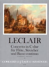 Jean-Marie Leclair - Concerto Opus 7 N ° 3 en Do mayor - Partitura - di-arezzo.es