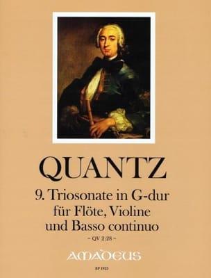 Johann Joachim Quantz - Sonata Trio No. 9 In Sol Maj. QV2: 28 - Sheet Music - di-arezzo.com