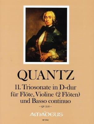 Johann Joachim Quantz - Sonata Trio No. 11 In D Maj. QV2: 10 - Sheet Music - di-arezzo.com