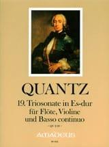 Johann Joachim Quantz - Sonata Threesome 19 In Eb Shift.QV 2:18 - Sheet Music - di-arezzo.com