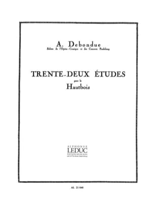 Albert Debondue - 32 Studies - Sheet Music - di-arezzo.com