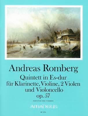 Quintette En Mib Maj. Op. 57 - Andreas J. Romberg - laflutedepan.com