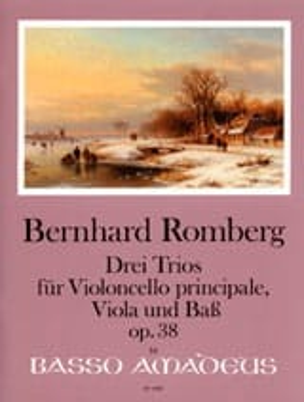 Bernhard Heinrich Romberg - 3 Trios Op.38 - Partition - di-arezzo.fr