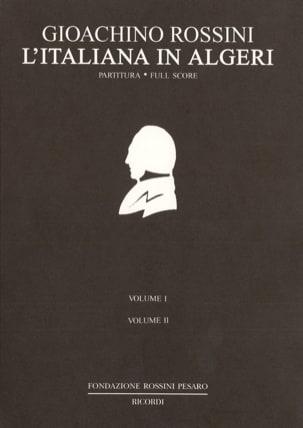 Gioacchino Rossini - L' Italienne à Alger - Partition - di-arezzo.fr