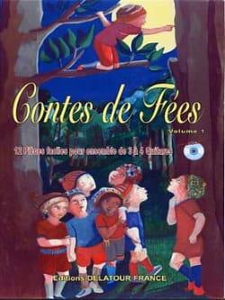 Basque / Boivin / Grau - Contes de Fées vol 1 pour 3 à 4 guitares - Partition - di-arezzo.fr