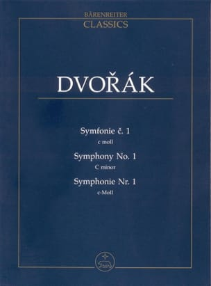 DVORAK - Symphony Nr. 1 - Partitur - Sheet Music - di-arezzo.co.uk