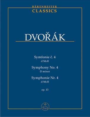 Symphonie Nr. 4 - Partitur - Antonin Dvorak - laflutedepan.com