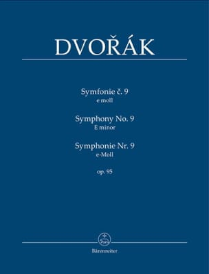 DVORAK - Symphony Nr. 9 - Partitur - Sheet Music - di-arezzo.co.uk
