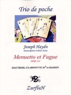 HAYDN - Menuetto and Fugue - Hob.114 - Sheet Music - di-arezzo.com