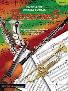 Guyot / Sourisse - Répertoires Volume 1 - Partition - di-arezzo.fr