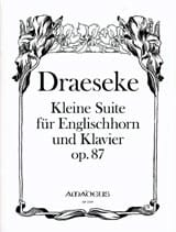 Félix Draeseke - Kleine Suite Op. 87 - Partition - di-arezzo.fr