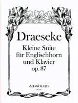 Félix Draeseke - Kleine Suite Op. 87 - Partitura - di-arezzo.es