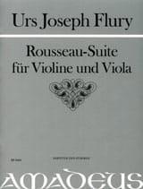 Urs Joseph Flury - Rousseau-Suite - Partition - di-arezzo.fr
