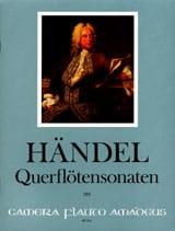 7 Sonates Flûte et Basse Continue HAENDEL Partition laflutedepan