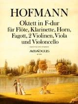 Octuor Op. 80 En Fa Majeur Heinrich Hofmann Partition laflutedepan