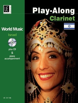 Play-Along Clarinet - Israel Partition Clarinette - laflutedepan