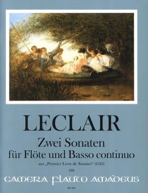 2 Sonates Op. 1 N° 2 et Op. 1 N° 6 - laflutedepan.com