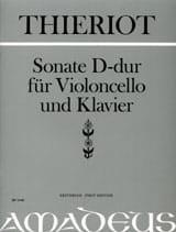 Sonate En Ré Maj. - Ferdinand Thierot - Partition - laflutedepan.com